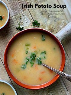 Irish Soup, Irish Potato Soup, Irish Potatoes, Stewed Potatoes, Instant Pot Dinner Recipes, Easy Soup Recipes, Irish Recipes, Bean Recipes, Potato Soup Vegetarian