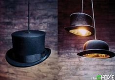 Top Hat Light! Just like John from Peter Pan! want this nowwwwww!