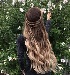 """1,848 Likes, 19 Comments - BRAIDS   UPDOS   INSPIRATION (@beyondtheponytail) on Instagram: """"Beautiful color & BRAID created by @jbraidsandbows and @hello_meow✨ #braidsandbalayage…"""""""