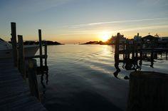 sunset silver lake harbor -Roxanne Slimak