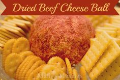 Dried Beef Cheeseball from Marty's Musings. Terrific for parties and family events!