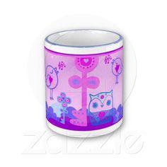 singing birds coffee mugs
