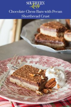 A decadent marriage of favorite Southern flavors, these Chocolate Chess Bars with Pecan Shortbread Crust make a delightful finale for any fall occasion.