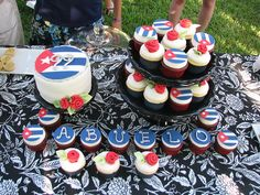 Cuban Cake and Cupcakes by sugarcrushmiami, via Flickr