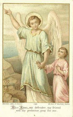 """O Anjo da Guarda, que cada um de nós recebe de Deus, não é um mito ou um """"conto da carochinha"""". É um dogma de fé católico, revelado por Deus nas Sagradas Escrituras. É uma realidade maravilhosa e invisível, porém, tão real quanto a realidade material que nos circunda e até mais...  Sejamos amigos de nossos Anjos da Guarda e recorramos a eles muitas vezes durante o dia. Estão incumbidos de nos ajudar a fazer a vontade de Deus e a chegar um dia ao Céu."""