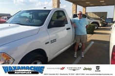 https://flic.kr/p/MzkqUi | Happy Anniversary to Gerald on your #Ram #1500 from Nicholas Allison at Waxahachie Dodge Chrysler Jeep! | deliverymaxx.com/DealerReviews.aspx?DealerCode=F068