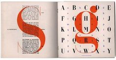 One of our favorite type specimen books: Bayer Type (1936) by Herbert Bayer. #typography #graphicdesign #font