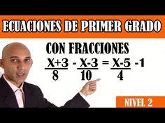 7 Ideas De Ecuaciones De Primer Grado Ecuaciones Grado Como Resolver Ecuaciones