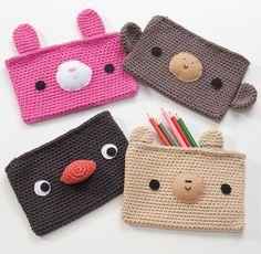 Amigurumi Pencil Cases | Flickr: partage de photos!
