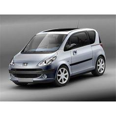 Peugeot 1007 Compact Hatchback - 3D Model