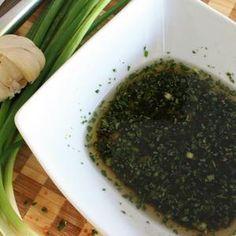 Asian Cilantro Ginger Marinade - Avocado Oil instead of Vegetable Oil, & Honey instead of Brown Sugar.