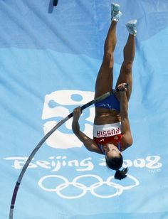 Yelena Isinbayeva - Athletics - Beijing 2008, Athens 2004 - Womens Pole Vault
