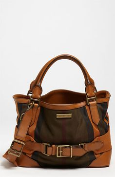 Burberry Fabric Tote