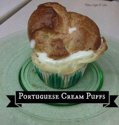 Portuguese Cream Puffs (Filhos do Forno) - Happy New Year!