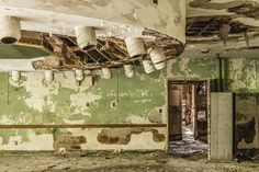 Sanatorium Heliotherapy Room - Abandoned Hospital for the Disabled