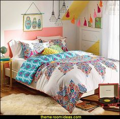 Gypsy Rose Comforter Boho Boutique Décor