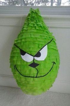 Grinch Party Pinata by PinataParadise on Etsy