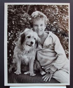 BENJI Zax and the ALIEN PRINCE Original CBS Network Press PHOTO Chris Burton DOG