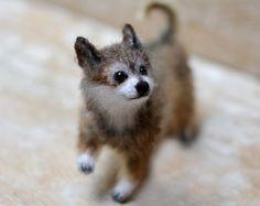 Custom perro retrato perro peluche perro animal escultura retrato del animal doméstico perro personalizado amante regalo chihuahua perro