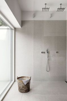 Are you looking for some minimalist bathroom ideas? Here we have several pictures of minimalist bathroom decor ideas you try. No matter how big or small your bathroom is, decorating this room… Continue Reading → Bathroom Renos, Laundry In Bathroom, Bathroom Interior, Bathroom Ideas, Bathroom Remodeling, Remodeling Ideas, Remodel Bathroom, Washroom, Shower Ideas