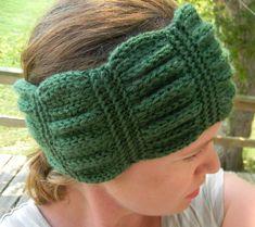 Knitting Pattern  Betty headband knit headband by PrettyKnitShop