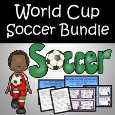 World Cup Soccer Bundle Includes - Powerpoint, Main Idea Task Cards, Math Word Problem Task Cards, Reading Passages, and A STEAM design challenge. 13 Slides in PowerPoint and STEAM - Soccer Ball design challenge ****************************************************************************************