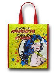 Wonder Woman Aphrodite Yellow Hand Bag