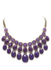 Purple Chloe Necklace