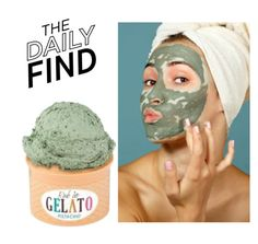 """The Daily Find: A'Pieu Gelato Mask"" by polyvore-editorial ❤ liked on Polyvore featuring beauty, DailyFind and beautyfind"