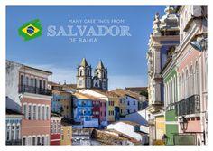 Salvador de Bahia | Urlaubsgrüße | Echte Postkarten online versenden | MyPostcard.com