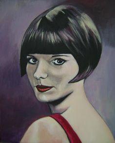 Pinturas e debuxos: Natalie.