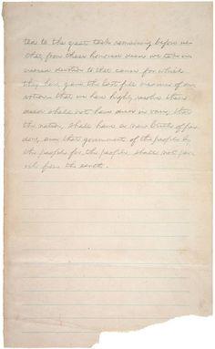 Gettysburg Address (1863)