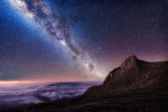 Starry nightscape over south-east Asia - GREY CHOW / CATERS NEWS AGENCY