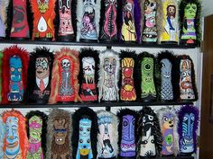 Circus punks collection close up #2, via Flickr.