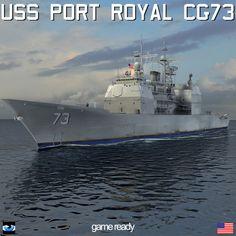 USS Port Royal CG 73