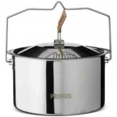 Primus Campfire Pot - 3 Liter Stainless Steel 3 L - Products - Kitchen Tools Gourmet Cooking, Cooking Bacon, Oven Cooking, Cooking Fish, Cooking Lamb, Cooking Pasta, Girl Cooking, Healthy Cooking, Cooking With Kids Easy