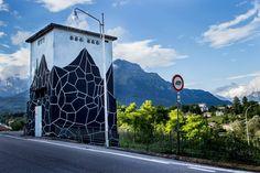 "Andreco, ""Several Landscapes"" in Belluno, Italy, 2016"