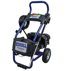 Excell 2700 PSI pressure washer is a maintenance free unit; equipped with a bi-radial oil-free Excell pump. Ergonomic wand is rust resistant and contains 5 quick connect nozzle tips to customize the unit to best fit the cleaning project.