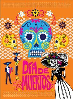 En la EAI fomentamos las tradiciones mexicanas. El viernes 1 de noviembre se inaugura el altar de muertos en el museo escolar, nos visitará La Catrina y comeremos pan y chocolate.