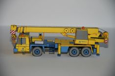 Tatra 815 AD 28 Crane Free Vehicle Paper Model Download