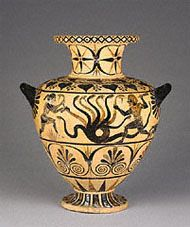 Herakles Story Vase. Greek art lesson from the Getty.