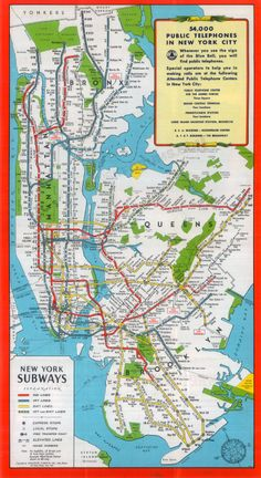Ideal Nyc Subway Map Efficient.11 Best New York City Subway Maps Images In 2013 New York City