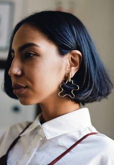 Holly Ryan Squiggle Earring