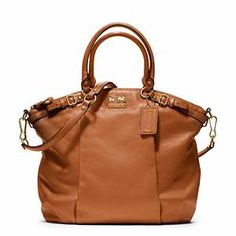 Coach - Madison Leather Lindsey Ns Stchl B4/cognac