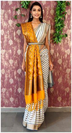 Dress Indian Style, Indian Fashion Dresses, Indian Designer Outfits, Indian Outfits Modern, Indian Fashion Modern, Indian Fashion Trends, Saree Fashion, Elegant Fashion Wear, Bollywood Fashion