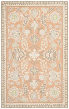 The return of lace in fashion and home decor inspired the graceful quatrefoil motifs of our Conservatory area rug. Masterfully hand-tufted in India of long-wearing quality wool with lustrous viscose highlighting its delicate pattern, Conservatory lends a romantic look to traditional and transitional rooms.