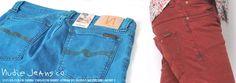 【Safari LEON SENSE 掲載ブランド】Nudie Jeans(ヌーディージーンズ) デニムパンツ ブルー TIGHT LONG JOHN ORG.ICON BLUE Col.094 No.37161-1245【送料無料】 dm-nude-176