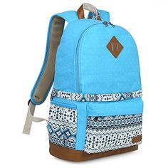 Koolertron Professional Cute Canvas Camera Case  Backpack with Rain Cover for SLR DSLR Canon Nikon Sony Camera Bag Fits for 15 LaptopBlue2 ** To view further for this item, visit the image link. (Note:Amazon affiliate link)