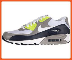7b6c0c012870 Nike Air Max 90 (OBSIDIAN   WHITE   MED GREY   VOLT) 11 - Athletic shoes  for women ( Amazon Partner-Link)