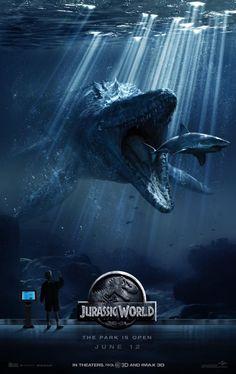 'Jurassic World': Chris Pratt y Bryce Dallas Howard protagonizan los nuevos pósters de la película